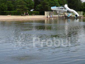 Aération zone de baignade, Cyanobactéries