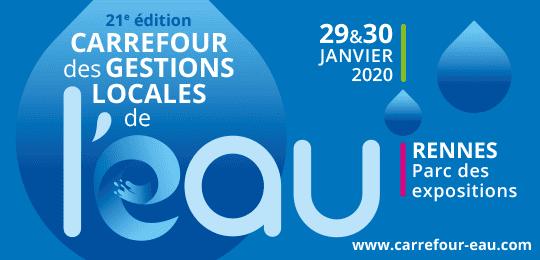 Carrefour des gestions locales de l'eau Rennes 2020